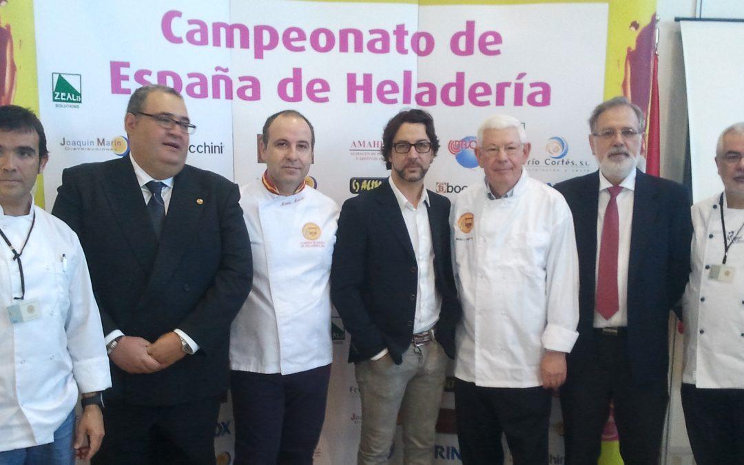 Bases del Tercer Campeonato de España de Heladería Artesana